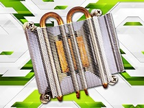 High Density Zipper Fin Heat Sink from Advanced Thermal Solutions