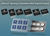 Microchip\'s MTCH102-5-8 low power touch controllers create robust, ready-to-go touch solutions to serve the rapid growth of capacitive human interfaces.