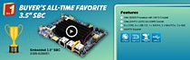 Acrosser\'s Fanless 3.5 Inch Embedded SBC AMB-N280S1 is the most inquired-about embedded board of all time!