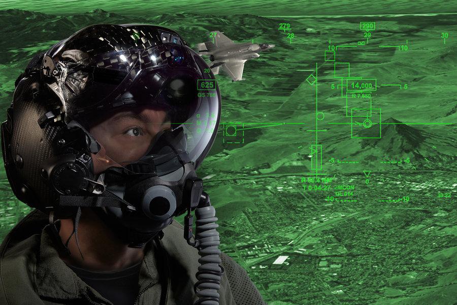 F 35 Gen Iii Helmet Mounted Display System Delivered For