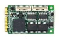 4-Port Optoisolated PCIe MiniCard Serial Module