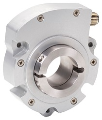 Compact rotary encoders like Sensata's LP Series (left image) are certified for use in Class 1 Division 1 environments, where they provide an intrinsically safe solution for speed control on top drives