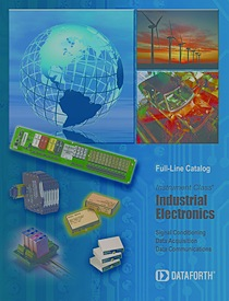 2011 Dataforth Full-Line Product Catalog