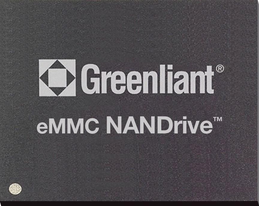 Greenliant Shipping Industrial Temperature eMMC NANDrive(tm