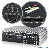 Vecow ECS-9771 4-port 10 GigE SFP+ Embedded System