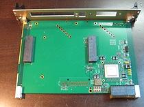 3U VPX Gen3 8x Lane PCIe to VPX adapter