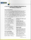 white paper a ten point guide for managing requirements for the internet of things iot