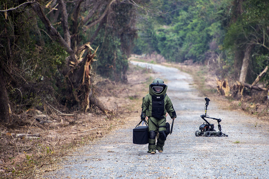 As military robots gain traction, ethical-use guidelines emerge
