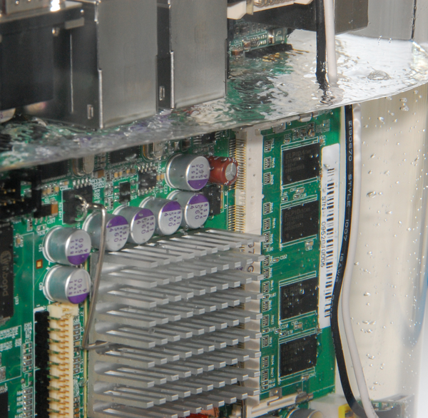 immersion liquid cooling small form factor and server class systems