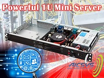1U mini-ITX Network Digital Signage Chassis