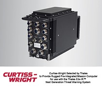 Curtiss-Wright Selected By Thales to Provide Rugged Pre-Integrated Mission Computer